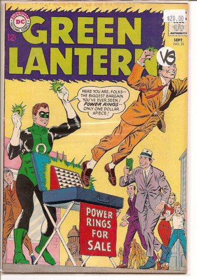 Green Lantern # 31, 4.0 VG