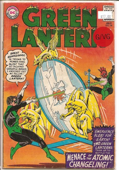 Green Lantern # 38, 3.0 GD/VG