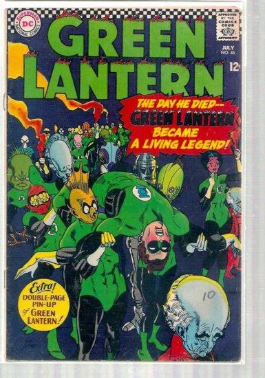 GREEN LANTERN # 46, 3.5 VG -