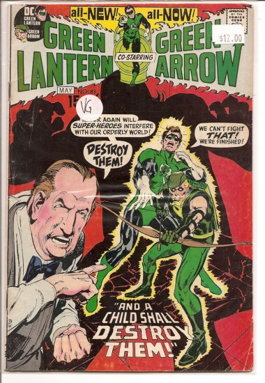Green Lantern # 83, 4.0 VG