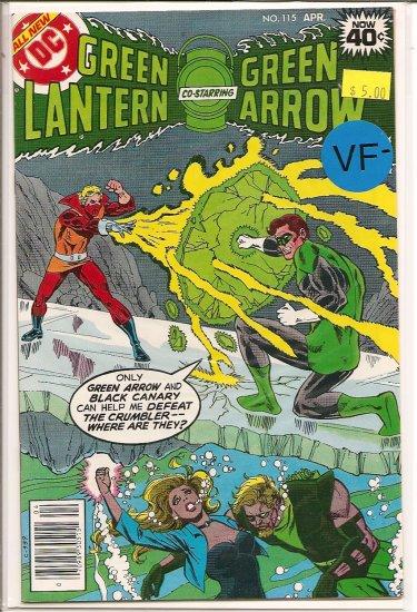 Green Lantern # 115, 7.5 VF -