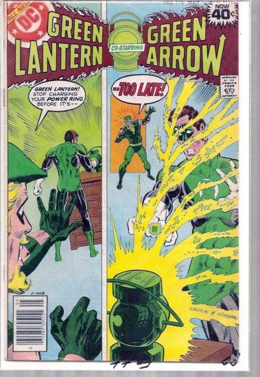 GREEN LANTERN # 116, 4.0 VG