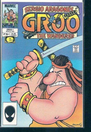 GROO THE WANDERER # 1, 8.5 VF +