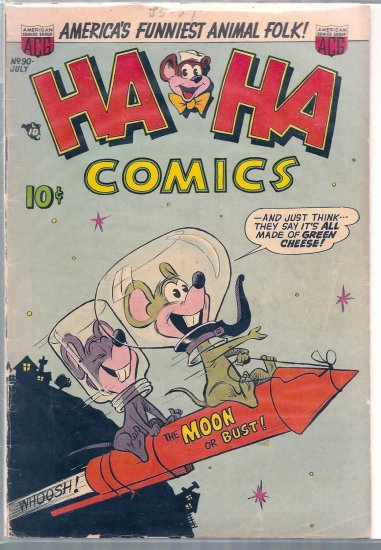 HA HA COMICS # 90, 2.0 GD