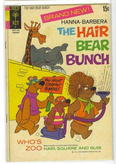 Hair Bear Bunch # 1, 2.5 GD +