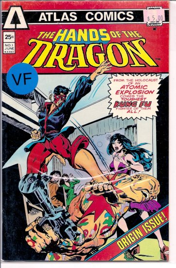Hands of the Dragon, The # 1, 8.0 VF