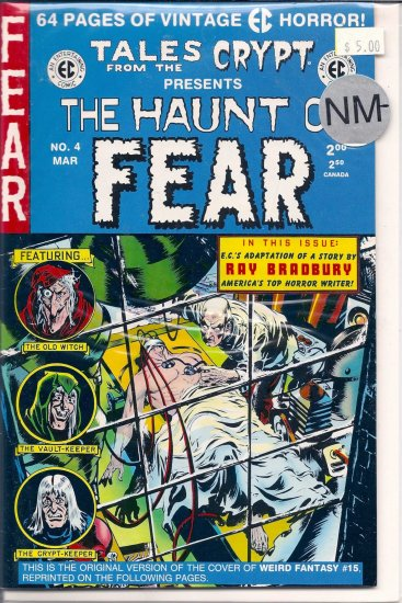 Haunt of Fear # 4, 9.2 NM -