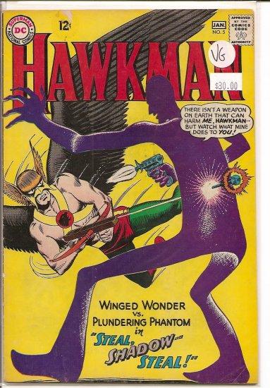 Hawkman # 5, 4.0 VG