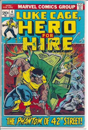HERO FOR HIRE # 4, 4.0 VG