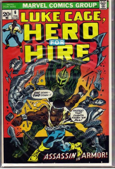 HERO FOR HIRE # 6, 7.0 FN/VF