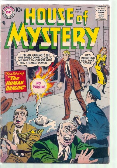HOUSE OF MYSTERY # 65, 2.0 GD