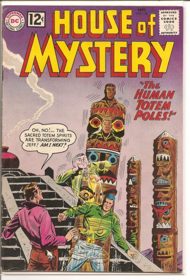 House of Mystery # 126, 4.5 VG +