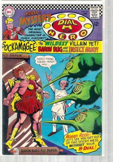 HOUSE OF MYSTERY # 163, 4.5 VG +