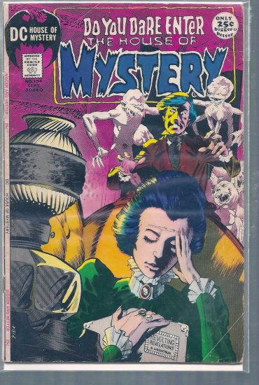 HOUSE OF MYSTERY # 194, 4.0 VG