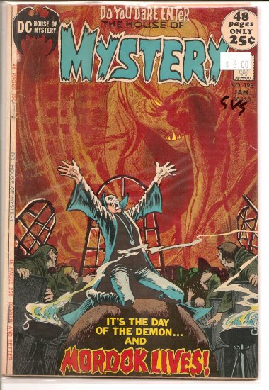 House Of Mystery # 198, 3.0 GD/VG