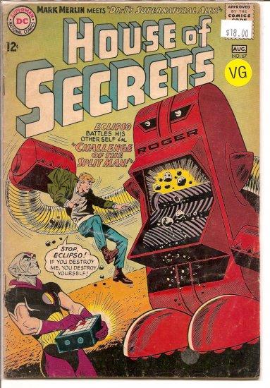 House Of Secrets # 67, 4.0 VG