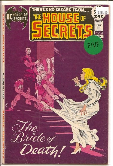 House Of Secrets # 95, 7.0 FN/VF