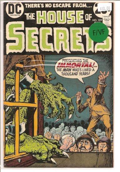 House Of Secrets # 109, 7.0 FN/VF