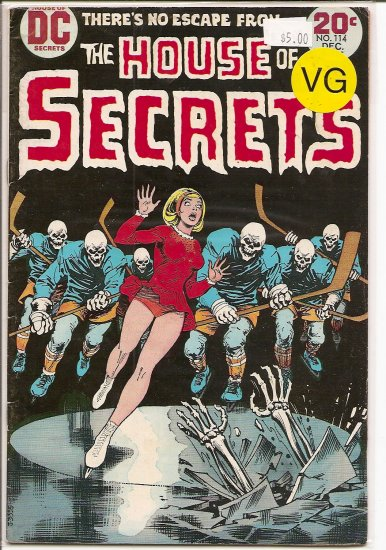 House Of Secrets # 114, 4.0 VG