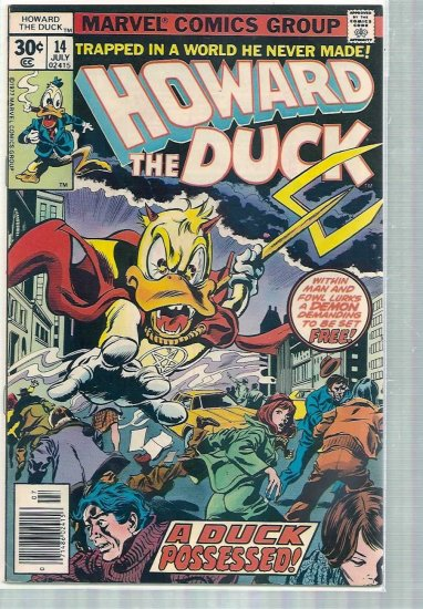 HOWARD THE DUCK # 14, 6.0 FN