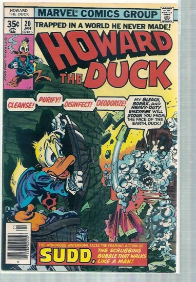 HOWARD THE DUCK # 20, 6.0 FN