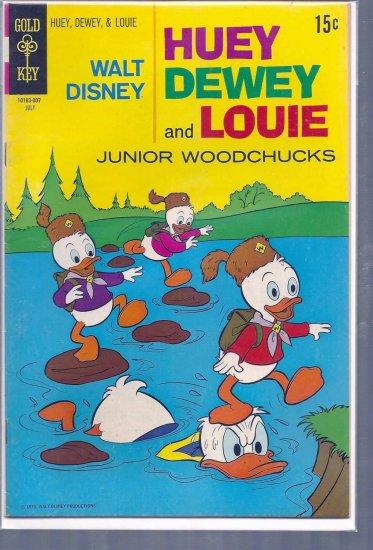 HUEY, DEWEY, AND LOUIE JUNIOR WOODCHUCKS # 6, 5.0 VG/FN