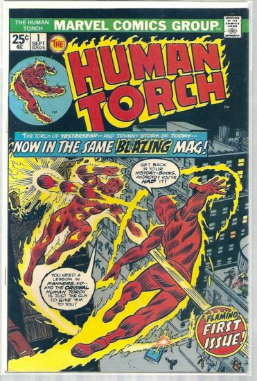 HUMAN TORCH # 1, 4.0 VG