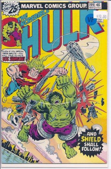 Incredible Hulk # 199, 8.0 VF