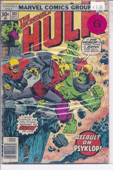 Incredible Hulk # 203, 2.0 GD