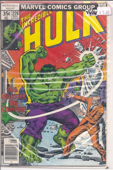 Incredible Hulk # 226, 5.0 VG/FN