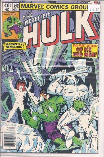 Incredible Hulk # 249, 9.0 VF/NM