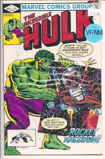 Incredible Hulk # 271, 9.0 VF/NM