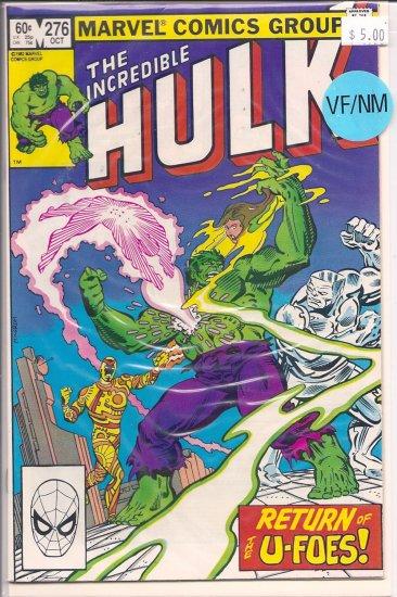 Incredible Hulk # 276, 9.0 VF/NM
