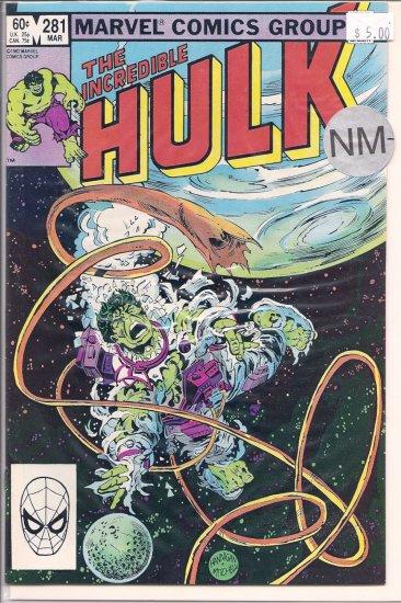Incredible Hulk # 281, 9.2 NM -