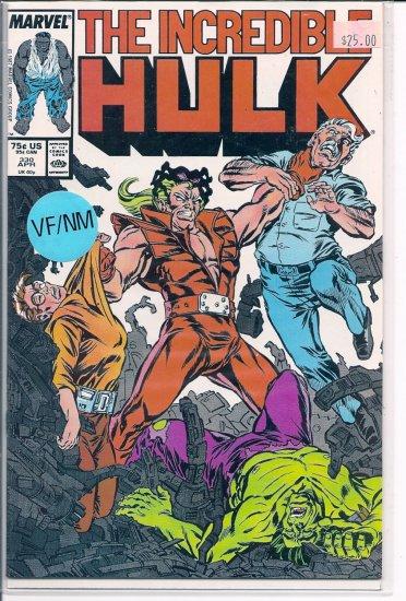 Incredible Hulk # 330, 9.2 NM -