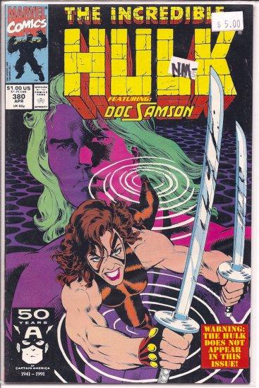Incredible Hulk # 380, 9.2 NM -