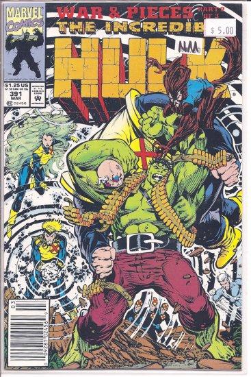 Incredible Hulk # 391, 9.4 NM