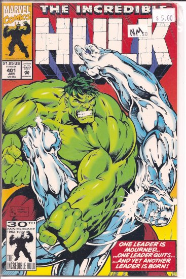Incredible Hulk # 401, 9.4 NM
