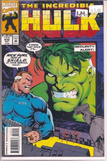 Incredible Hulk # 410, 9.4 NM