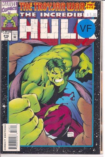 Incredible Hulk # 416, 8.0 VF