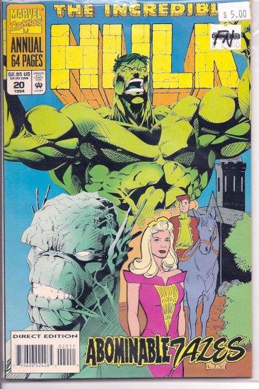Incredible Hulk Annual # 20, 6.0 FN