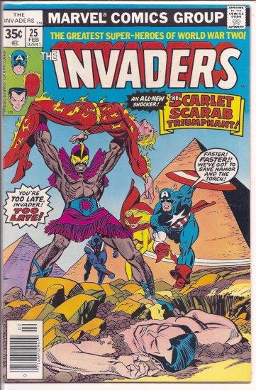 INVADERS # 25, 6.0 FN