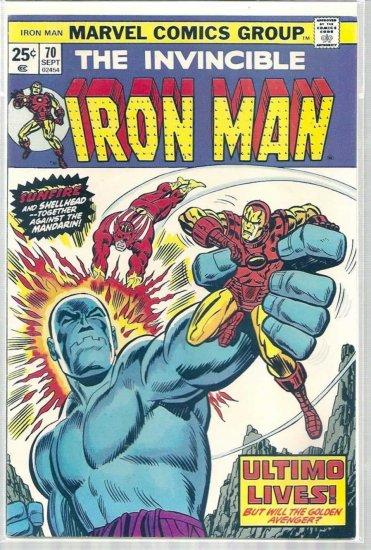 IRON MAN # 70, 5.5 FN -
