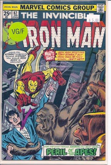 Iron Man # 82, 5.0 VG/FN