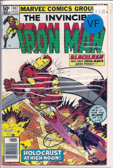 Iron Man # 147, 8.0 VF