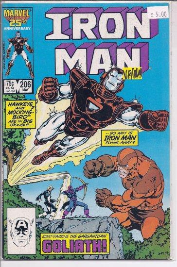Iron Man # 206, 9.0 VF/NM