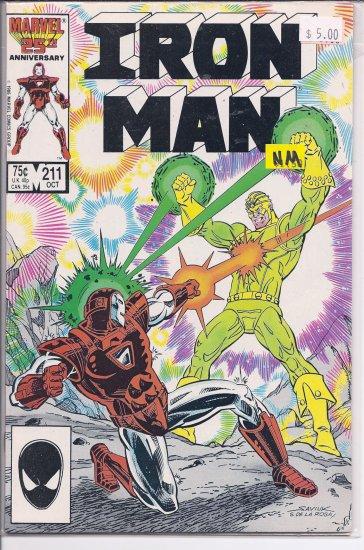 Iron Man # 211, 9.4 NM