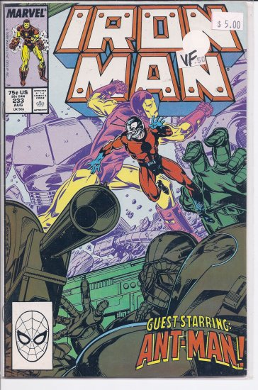 Iron Man # 233, 8.0 VF