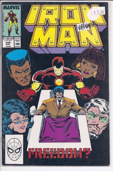 Iron Man # 248, 9.0 VF/NM