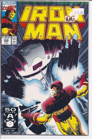 Iron Man # 266, 9.2 NM -